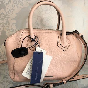REBECCA MINKOFF Pale Pink Micro Perry Satchel